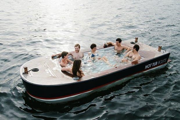 hot tub boats huckberry. Black Bedroom Furniture Sets. Home Design Ideas