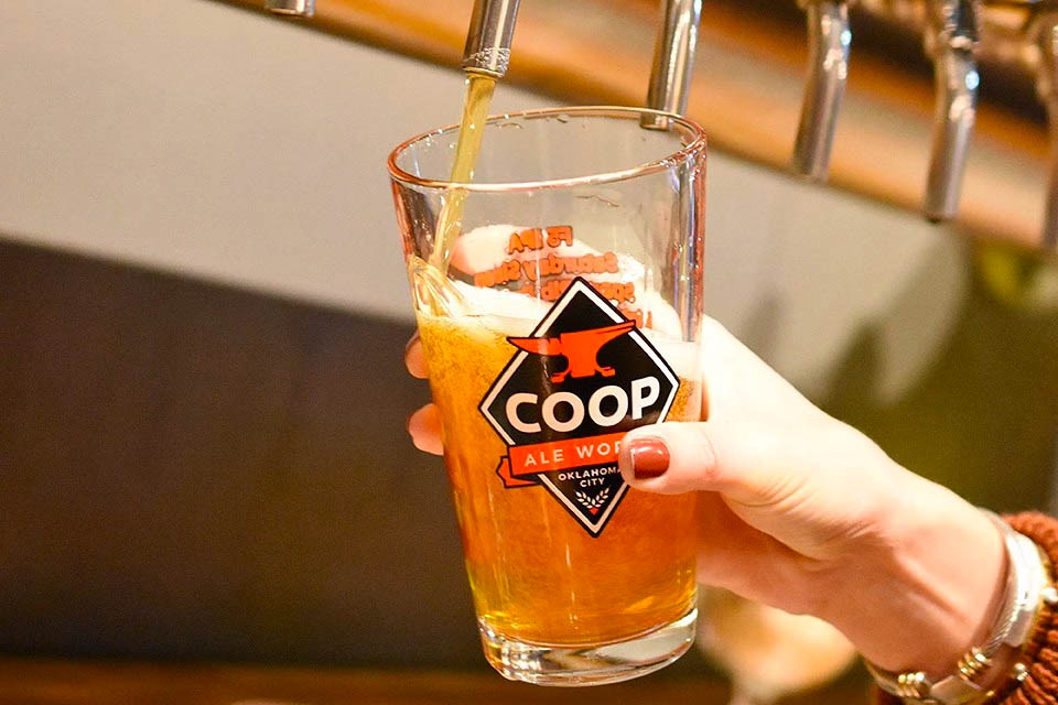 COOP Ale Works in Oklahoma City, Oklahoma
