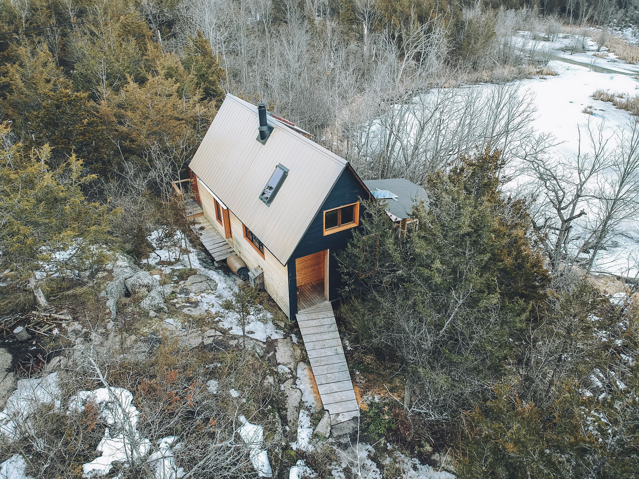 Raven House in the 1000 Islands Region of Ontario
