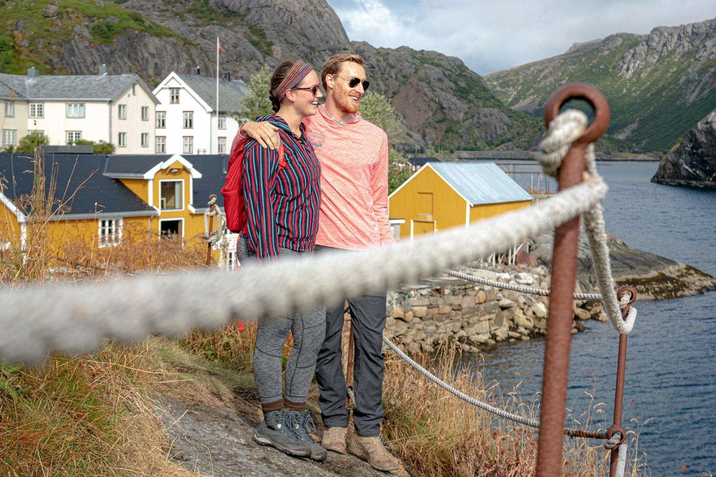 Christian and Grant in Lofoten