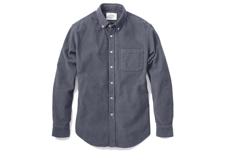 Portuguese Flannel Lobo Button Down Corduroy Shirt