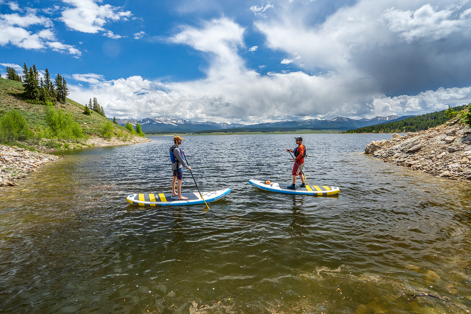Crested Butte is great for SUP in the summer.