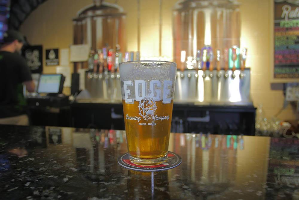 Edge Brewing Company in Boise, Idaho