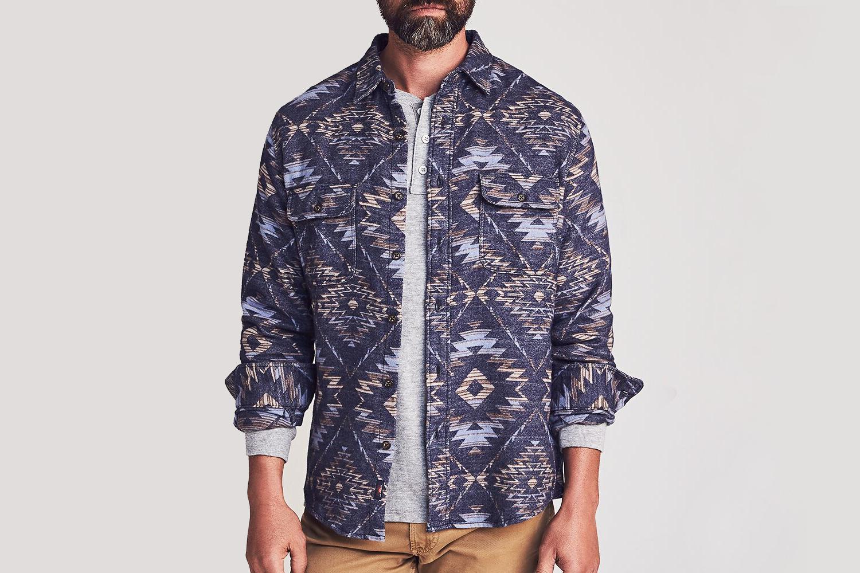 Faherty Brand Canyon Overshirt