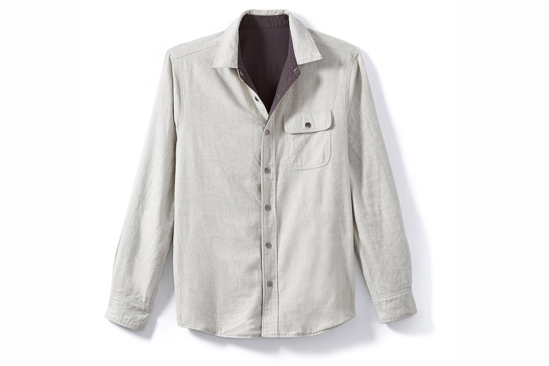 Faherty Brand Reversible Shirt Jacket