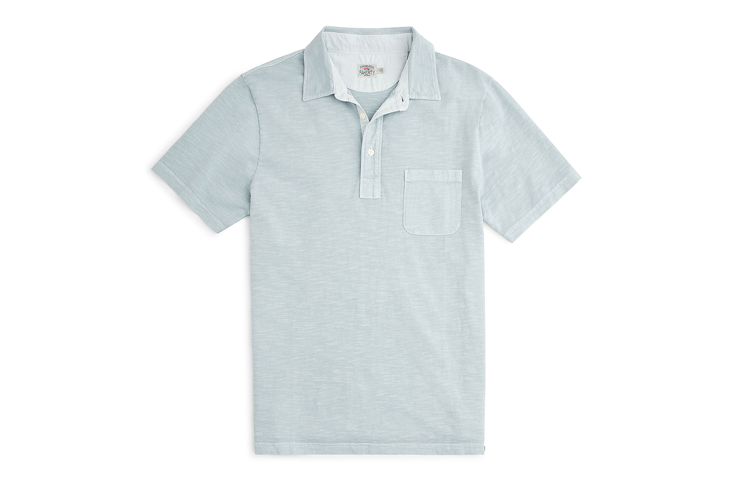 Faherty Brand Sunwashed Polo Shirt