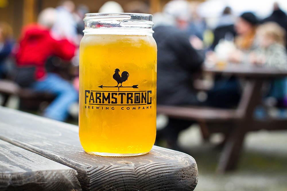 Farmstrong Brewing Company in Mount Vernon, Washington