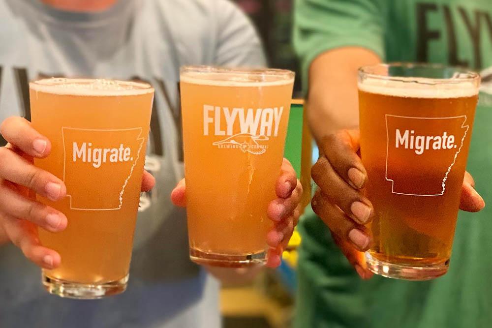 Flyway Brewing Company in Little Rock, Arkansas