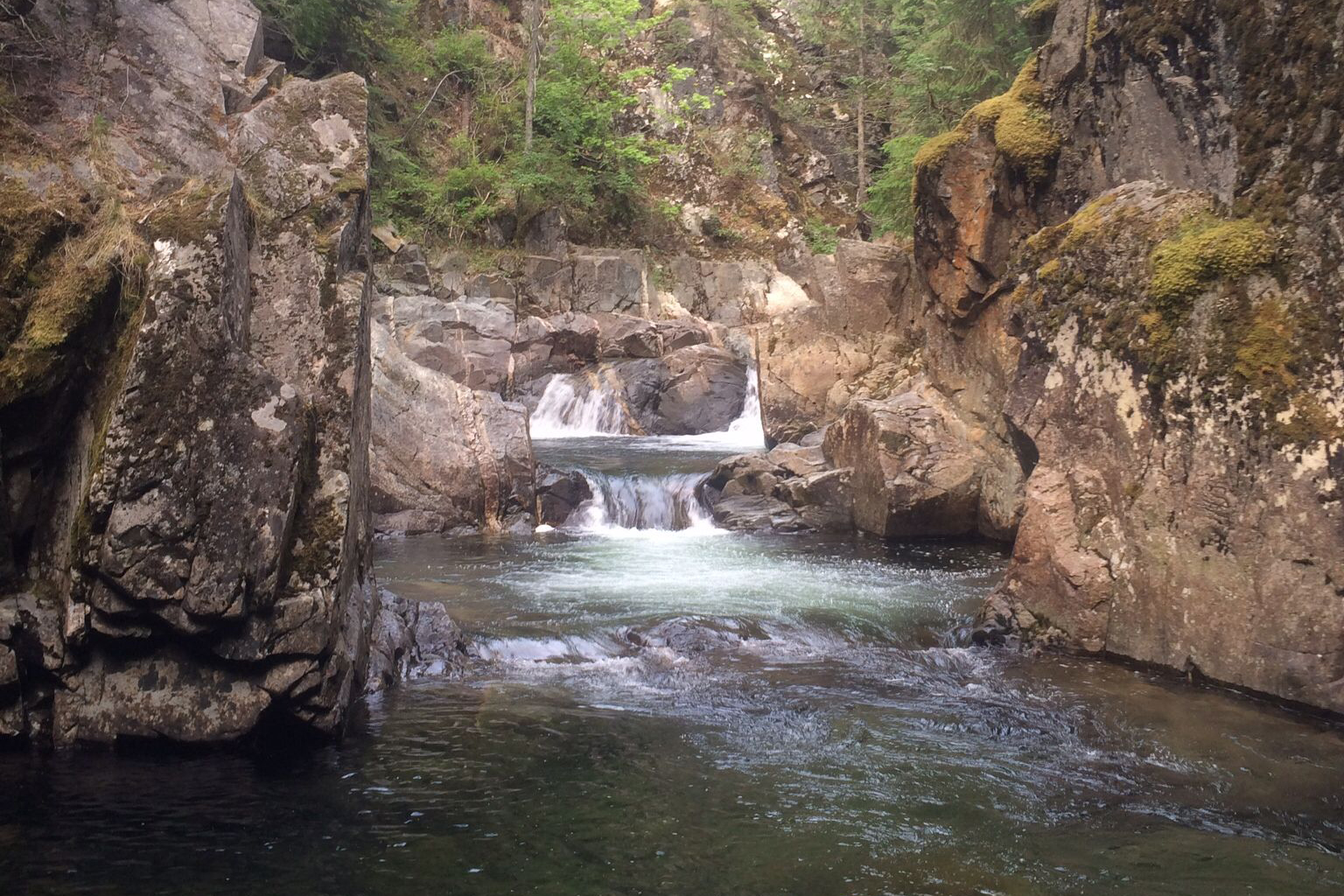 Grouse Creek Falls