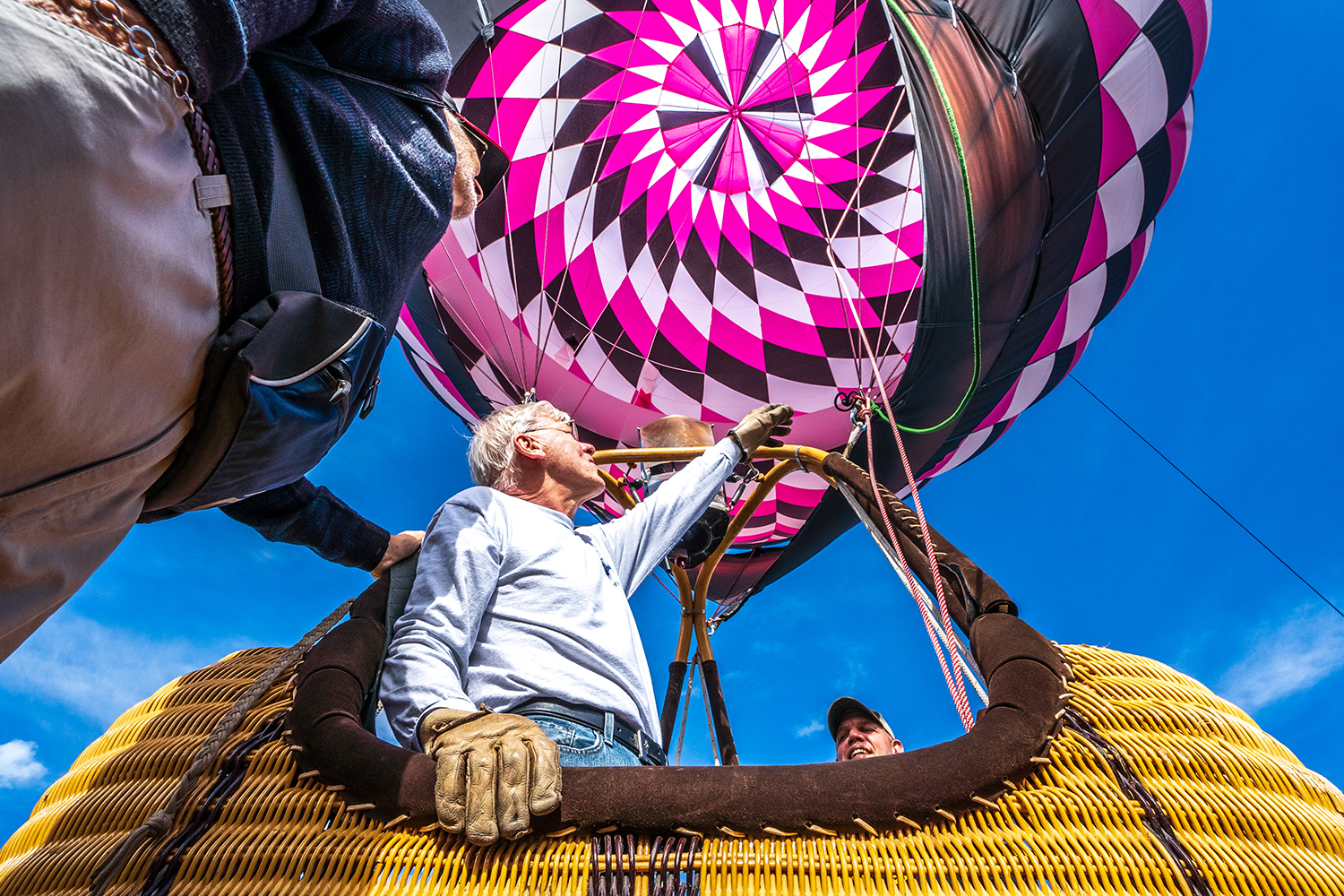 Hot air ballon festival in Steamboat Springs