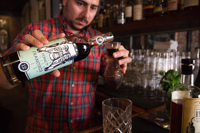 Rye Whiskey Cocktail Recipe | Huckberry