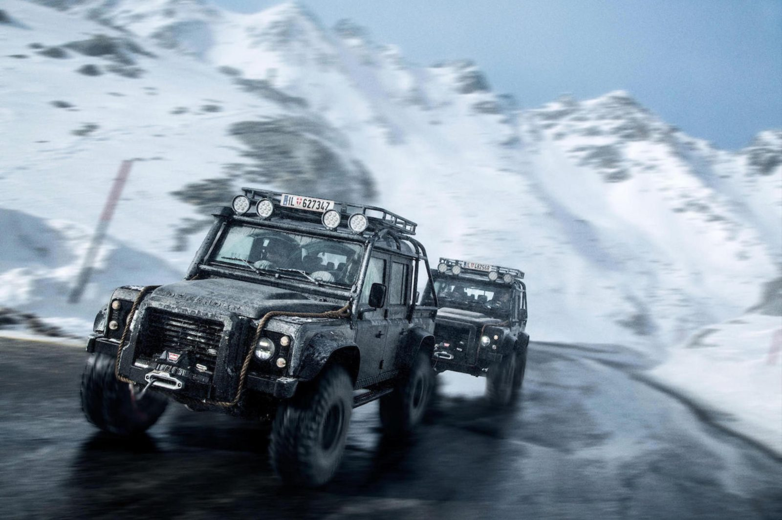 "The James Bond ""Spectre"" Land Rover Defender SVX"