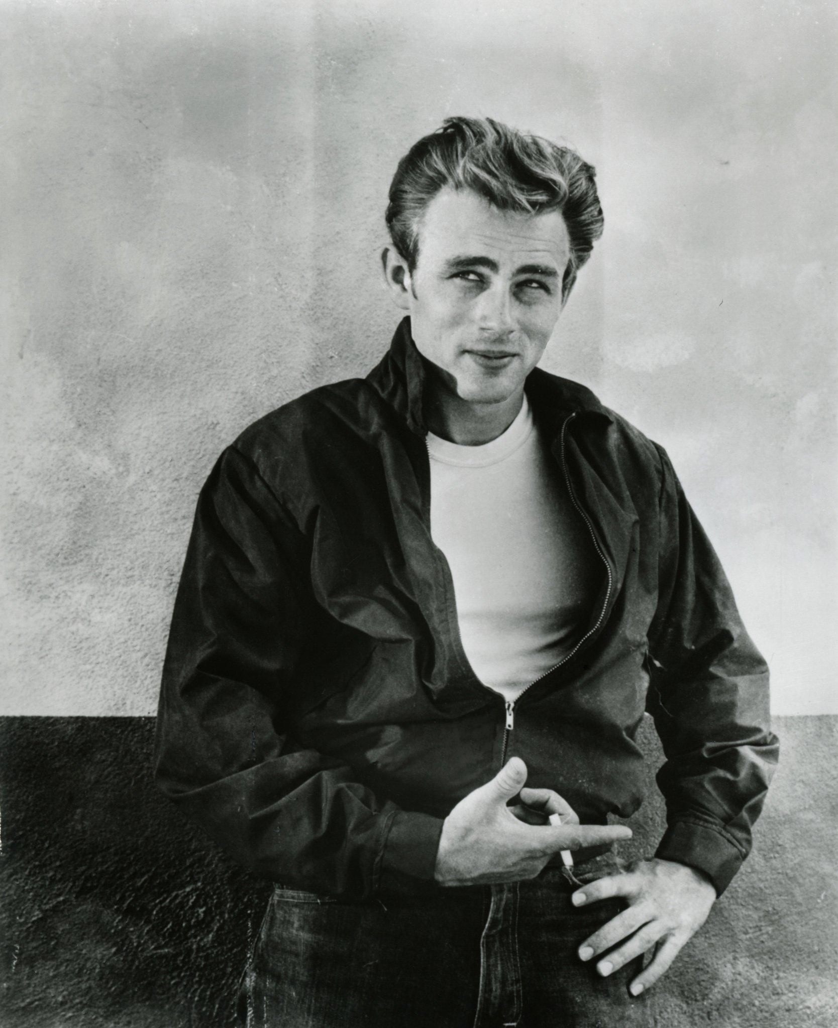 James Dean in the Harrington Jacket