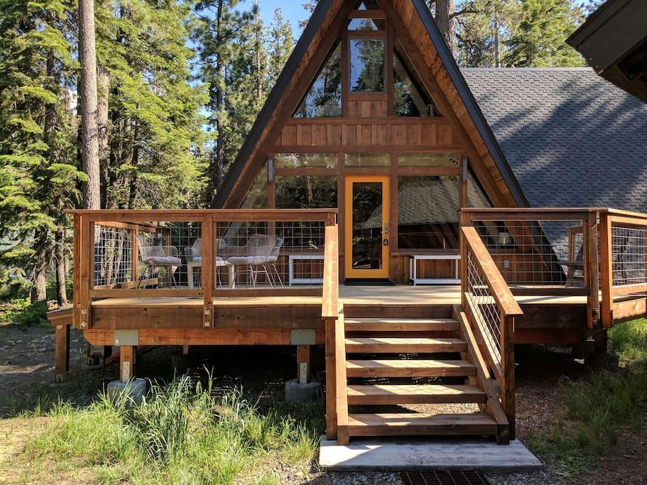 Lake Tahoe A-frame