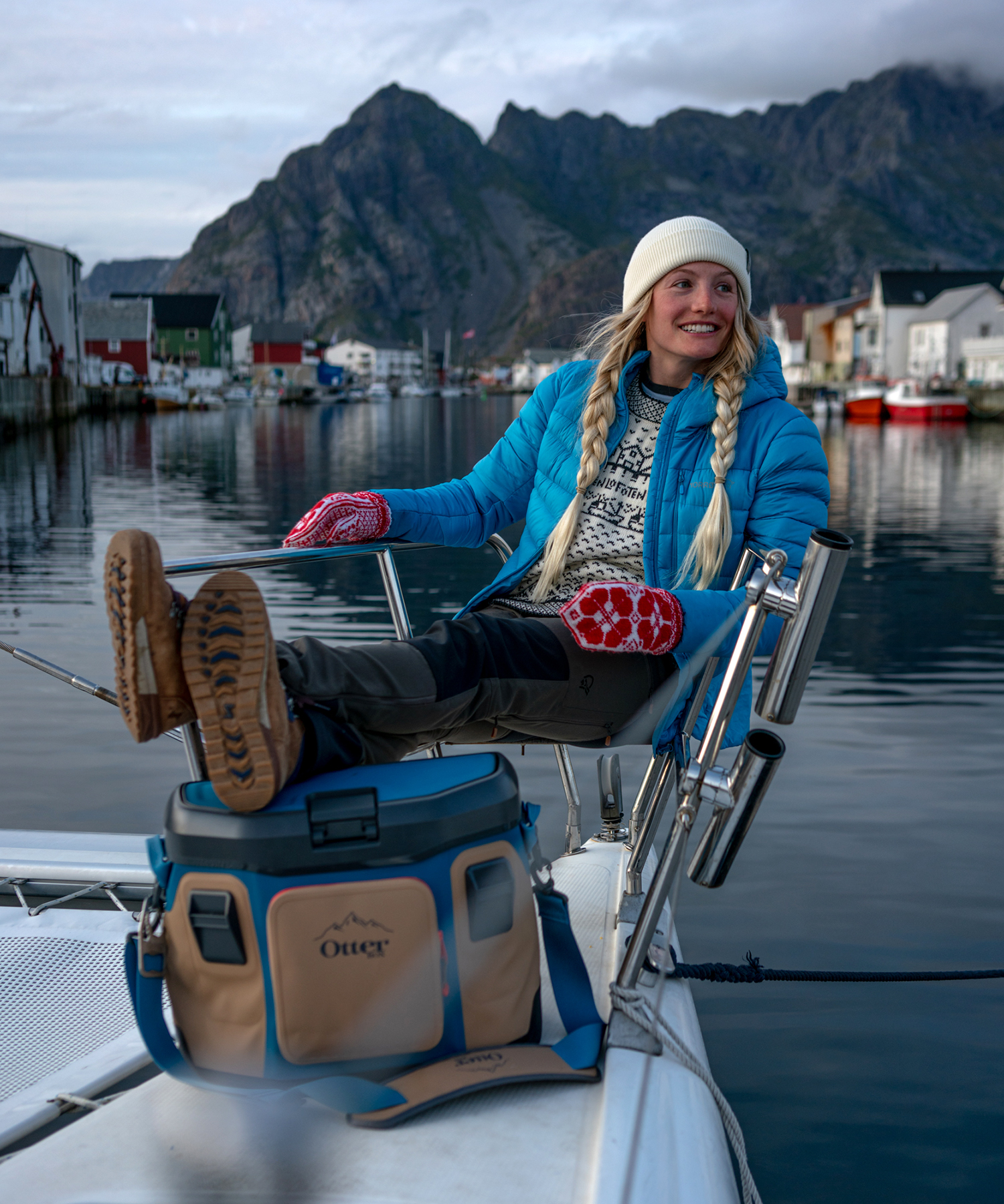 Rachel in Lofoten