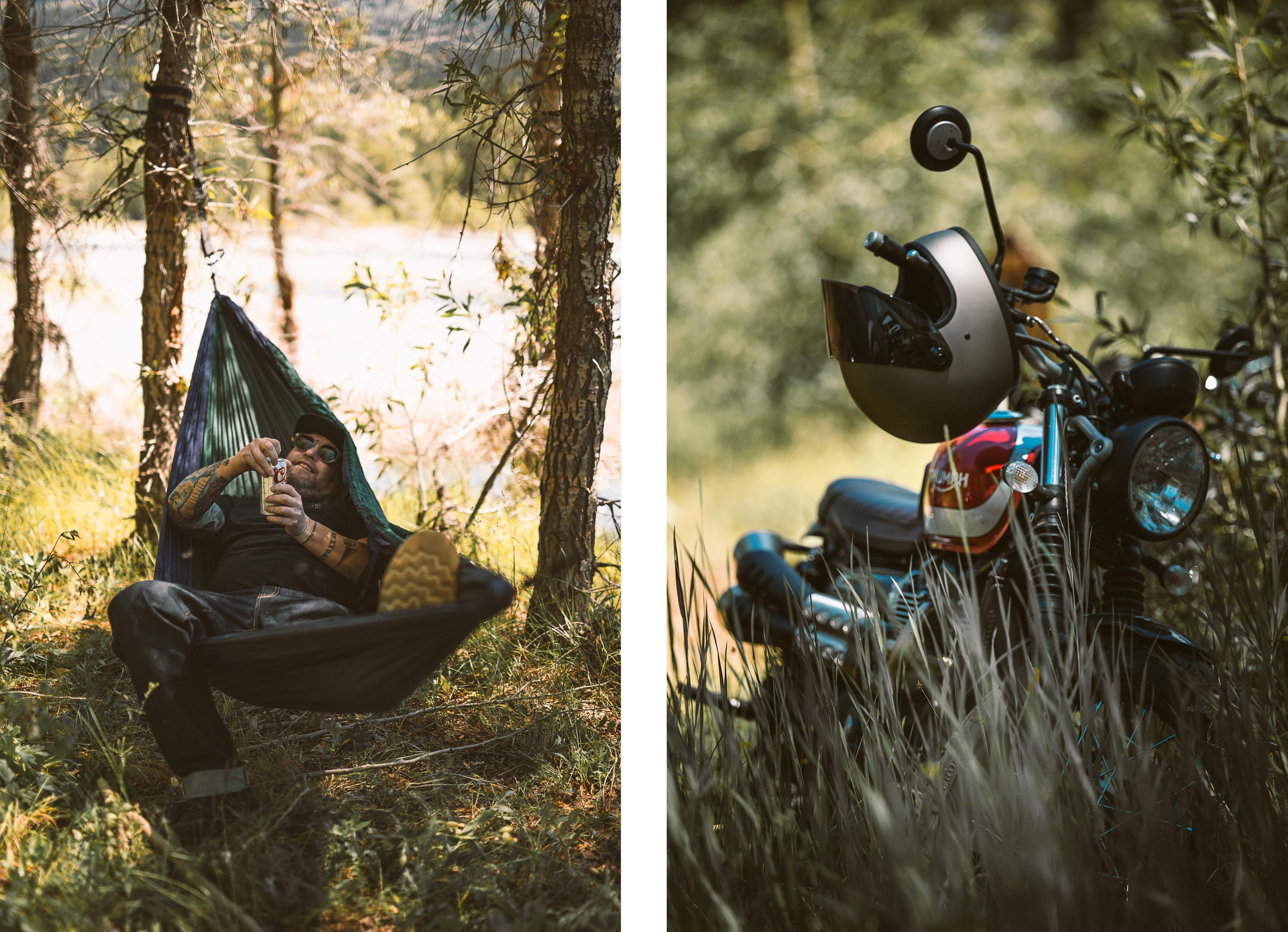 Wyoming camping