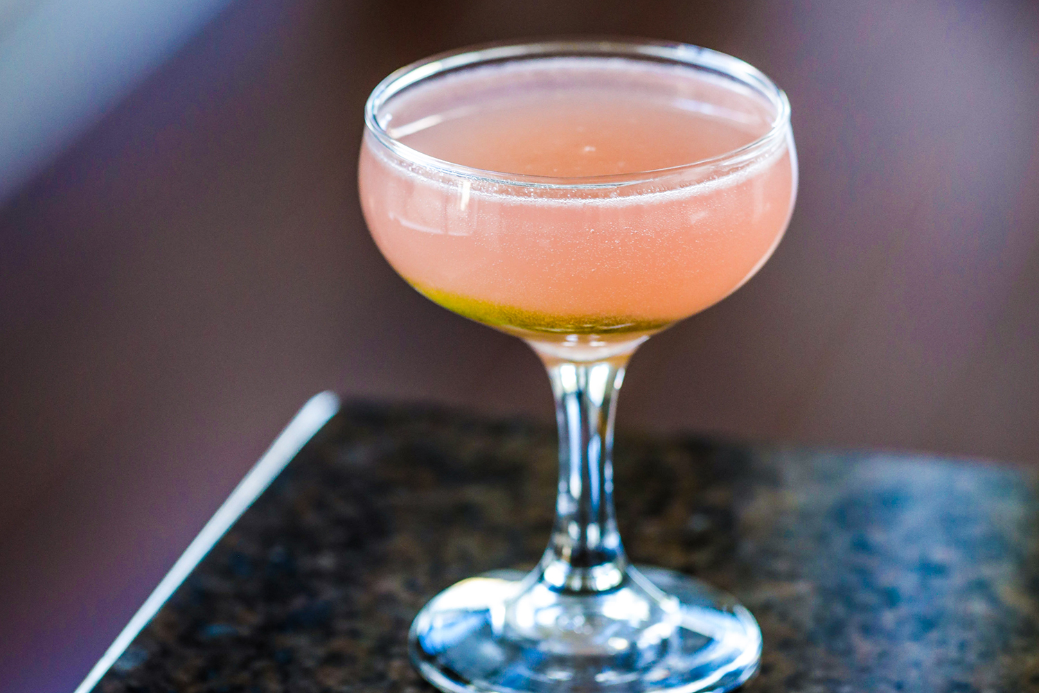 Rhubarb Mezcal Sour Recipe