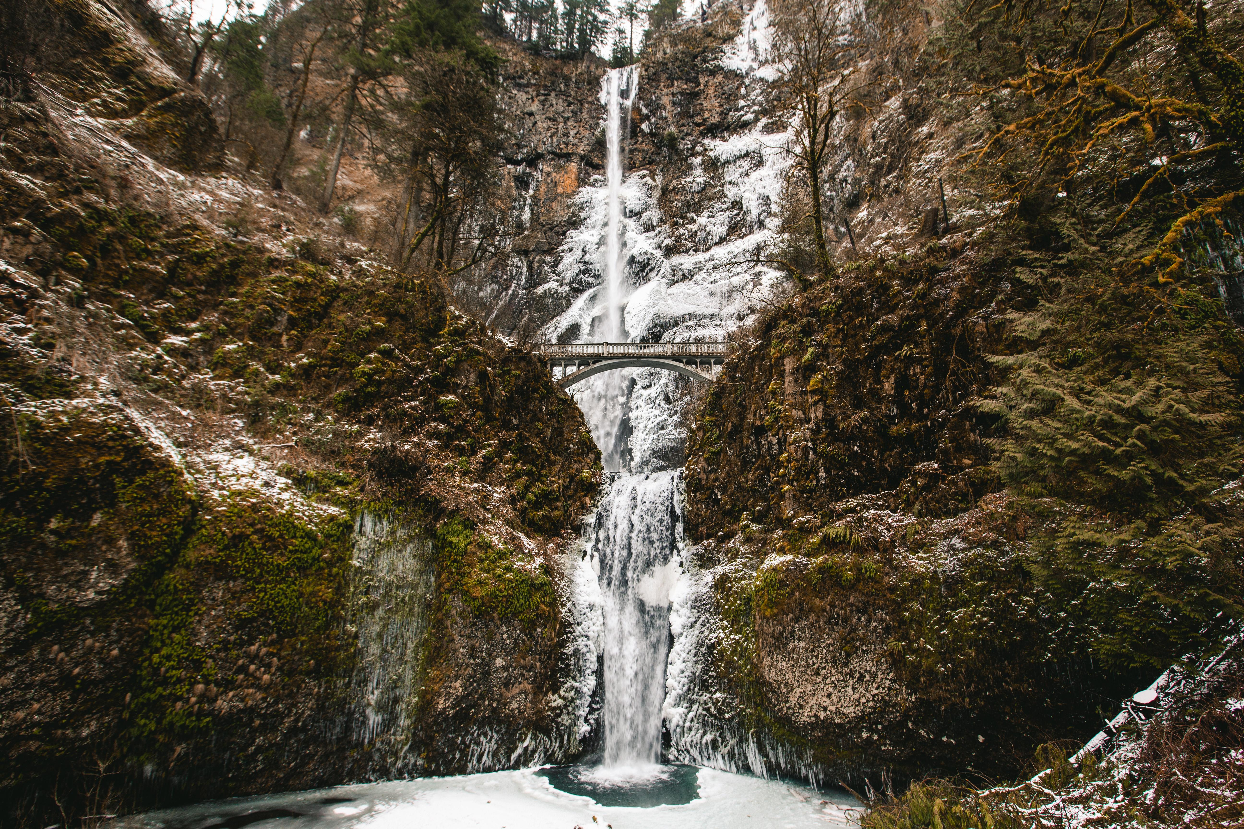 Multnomah Falls to Wahkeena Falls