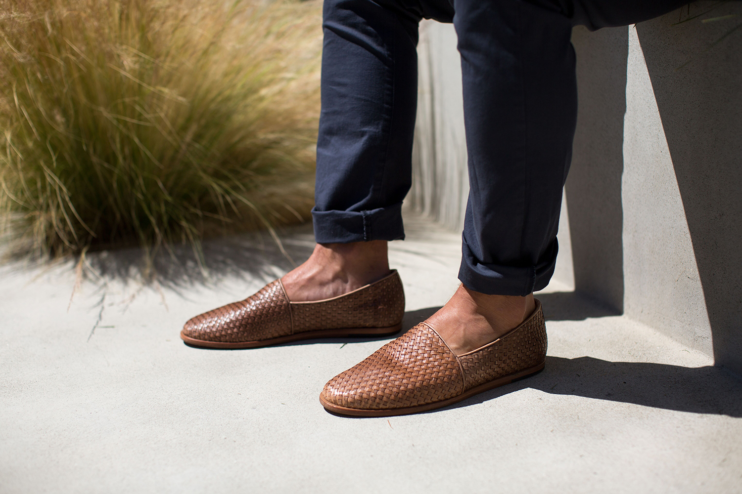 Nisolo Alejandro Woven Slip-on Shoes