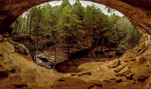 Old Man's Cave to Cedar Falls
