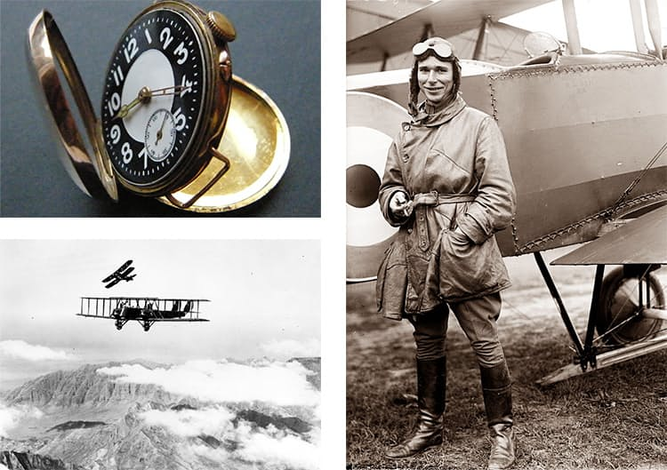 WWI aviation and watches