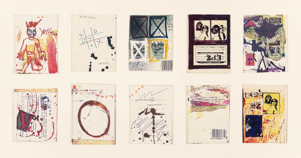 Jean-Michel Basquiat Postcards