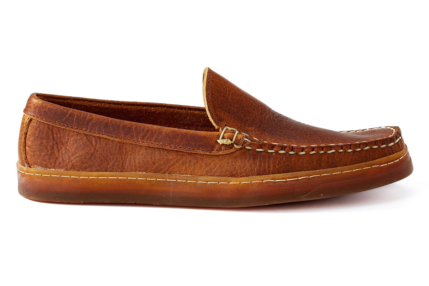 Rancourt Venetian Loafer in Toast Rushmore