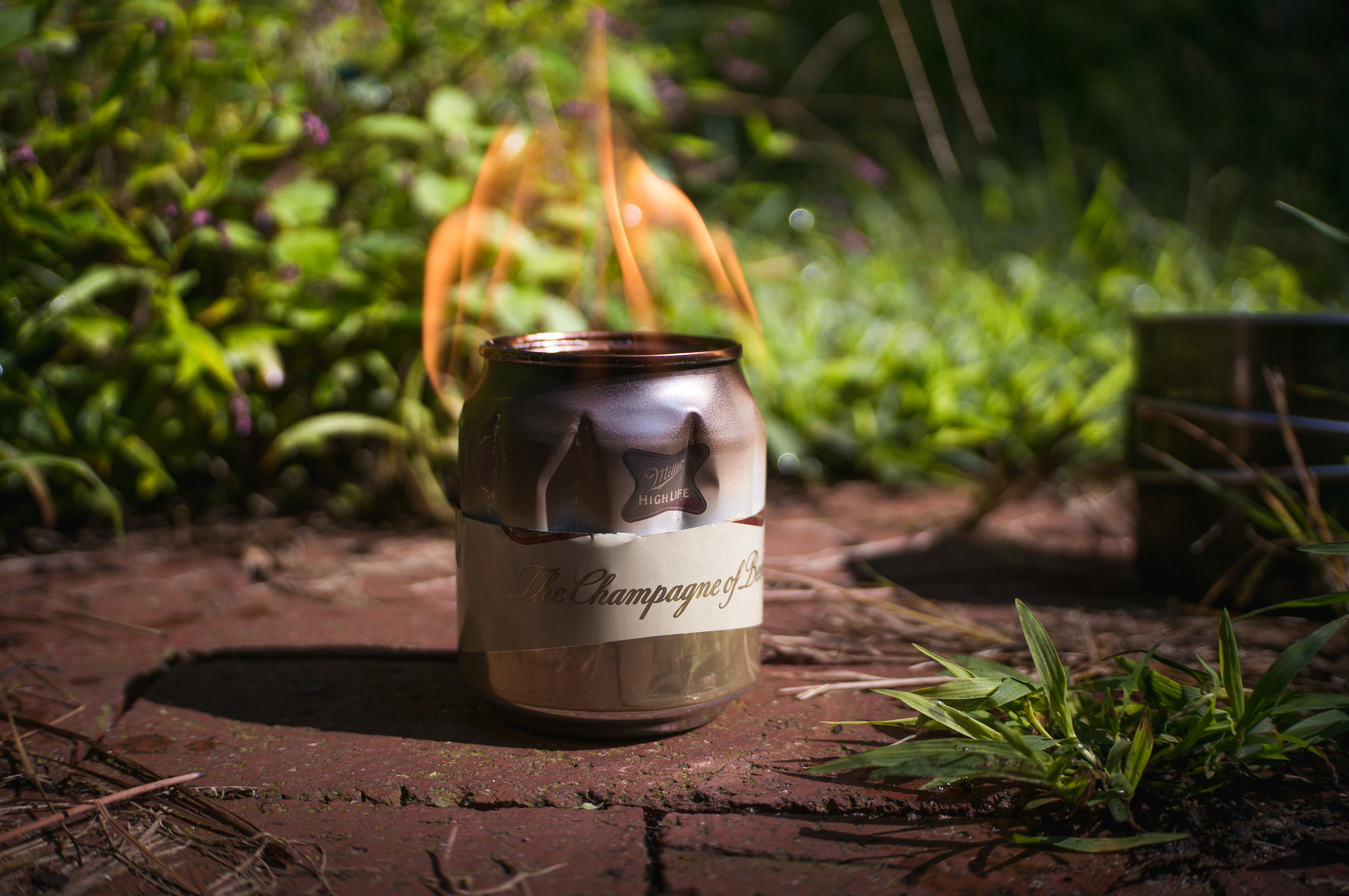 Using your camp stove