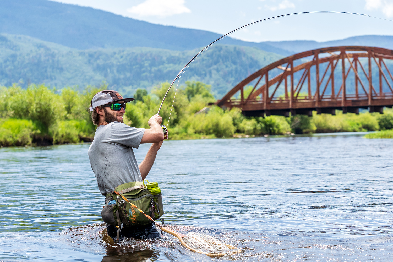 Steamboat is great for fishing in the summer