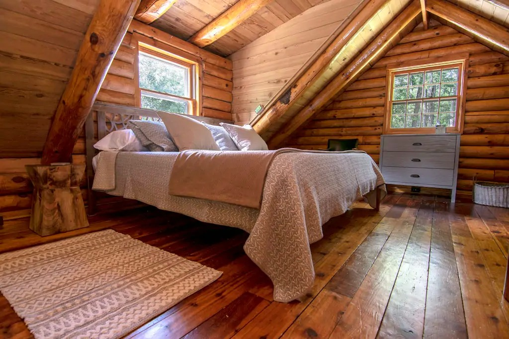 The Cabin Bedroom