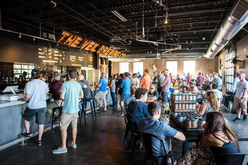 The Veil Brewing Company in Virginia