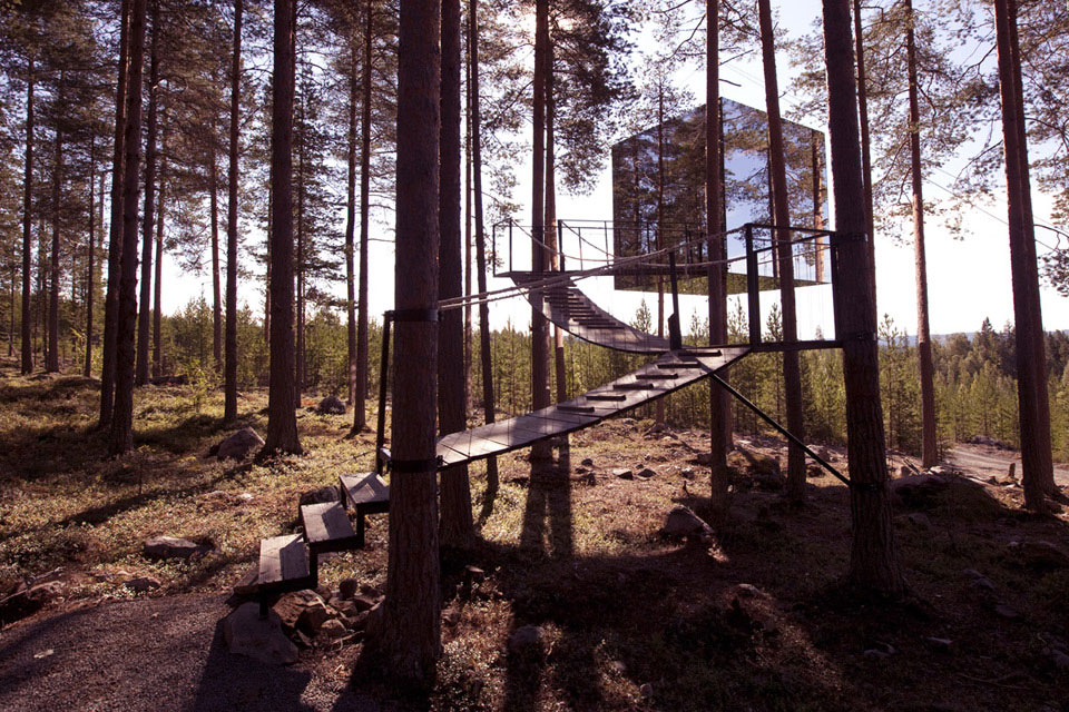 Stay at Sweden's Breathtaking Treehotel