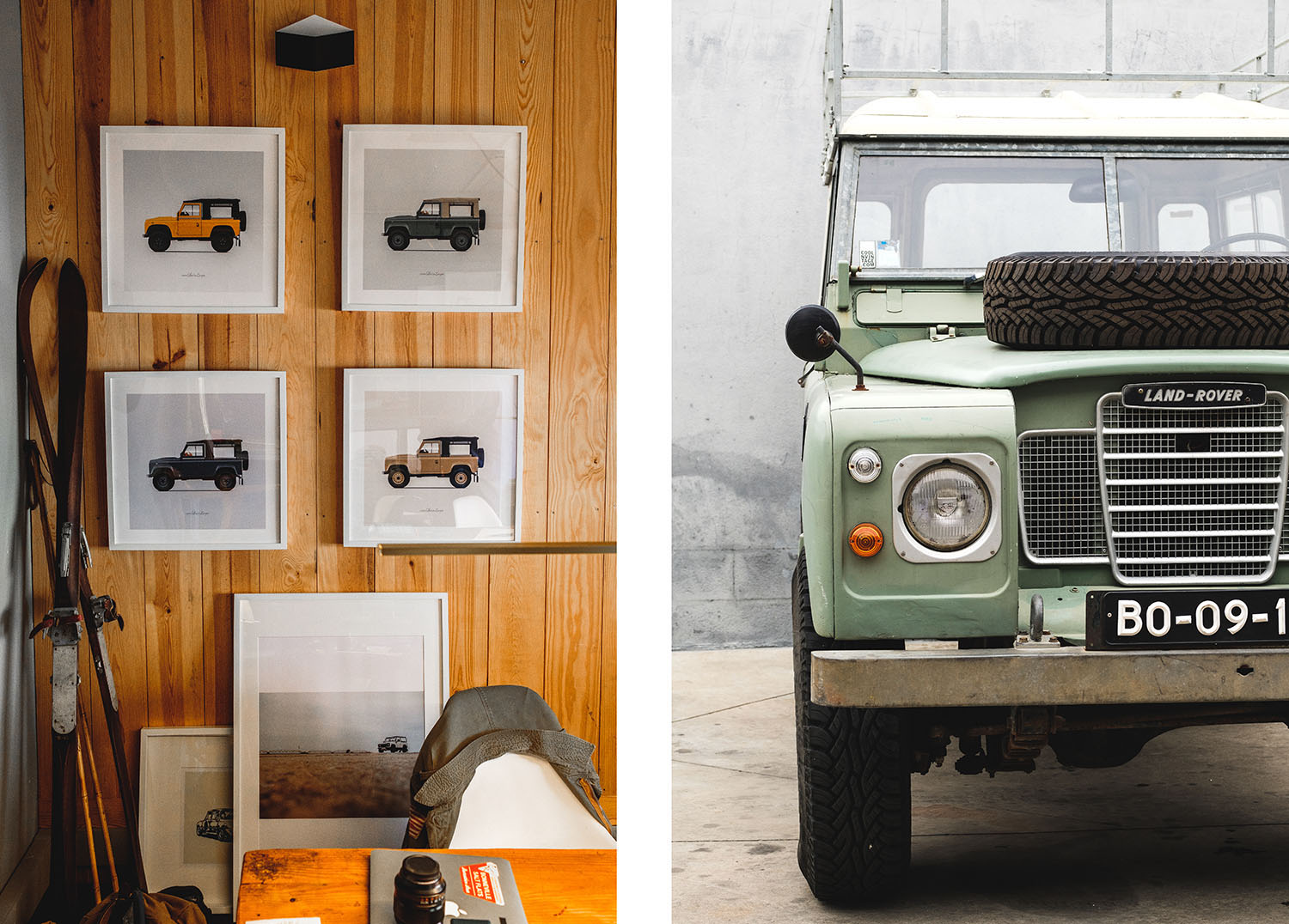 Meet The Founder Of Portugals Coolest Vintage Car Company Huckberry Land Rover Defender Challenge How Many Builds Does Cool Do A Year