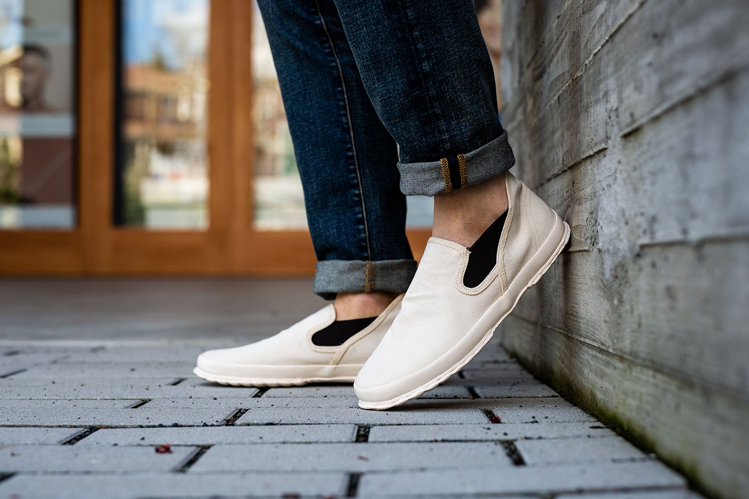 Vulcanizer Canvas Slip-On Shoes