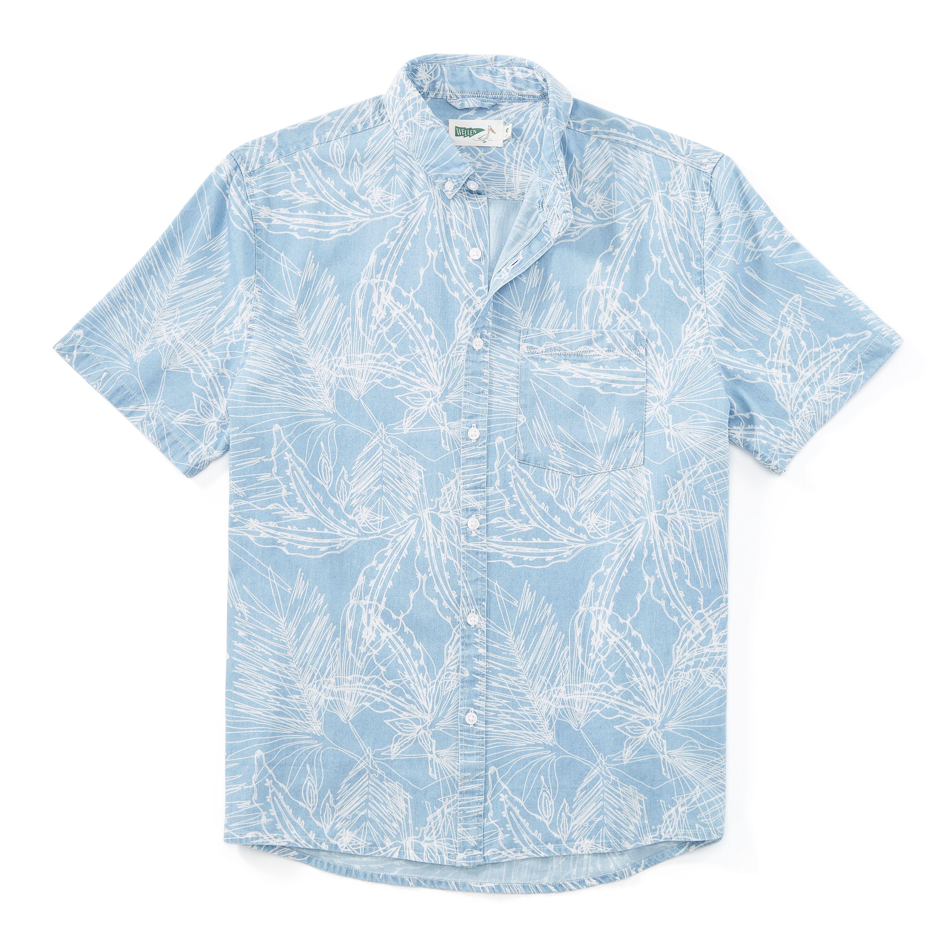 Wellen Printed Short Sleeve Shirt