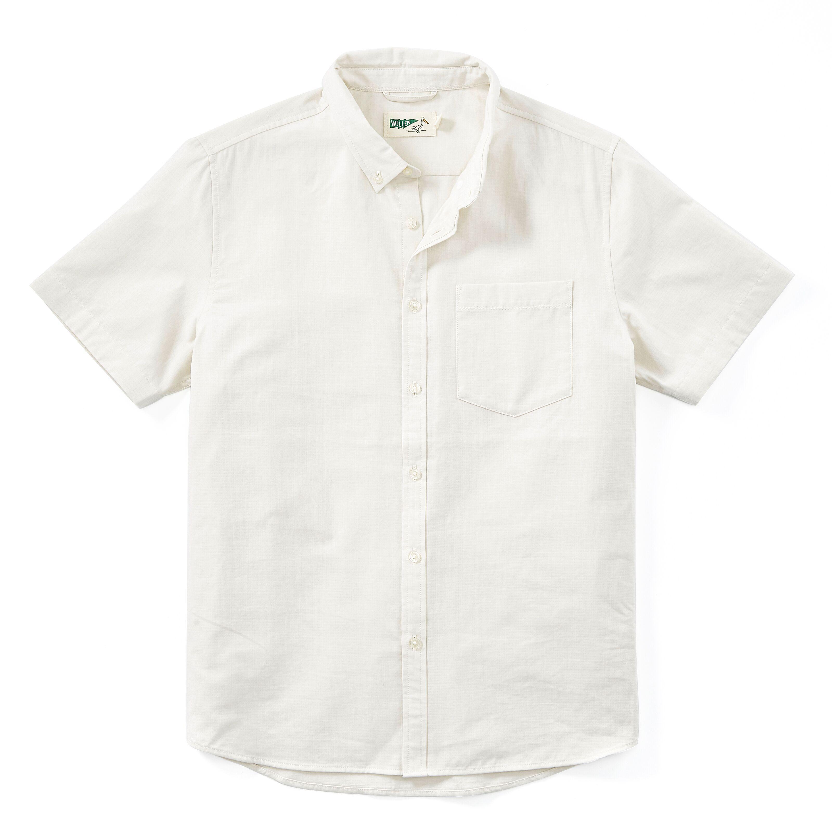 Wellen Double Cloth Short Sleeve Shirt