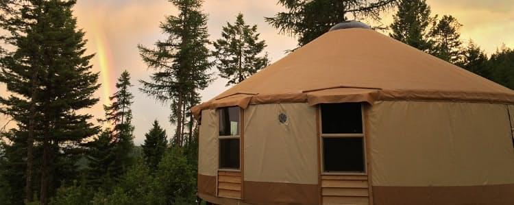 Shelter: Whitefish Yurt | Huckberry