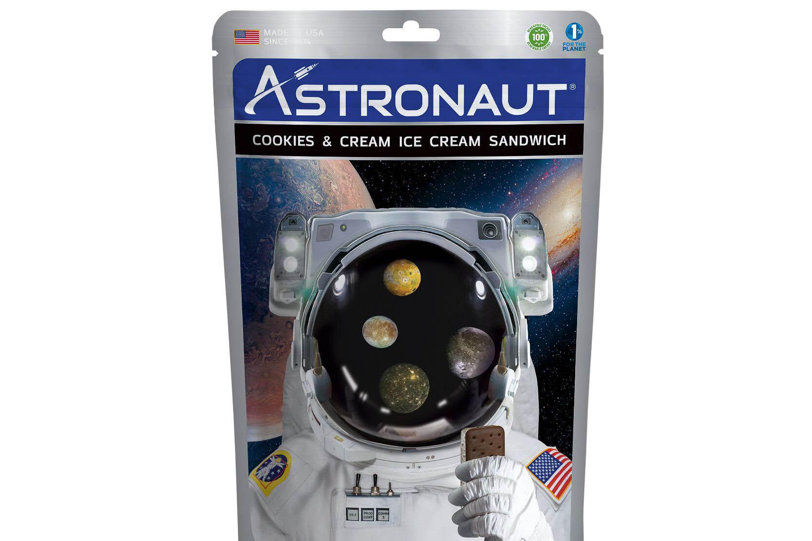 Astronaut Ice Cream Sandwiches