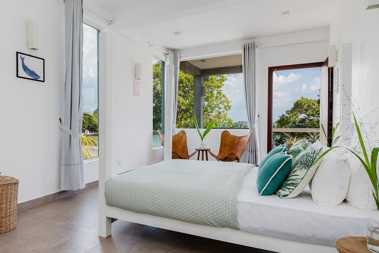 Bedroom at Ceylon Sliders in Sri Lanka