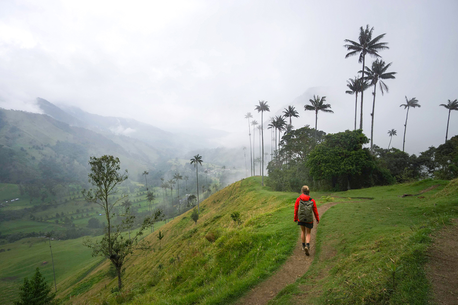 Colombia hiking trails