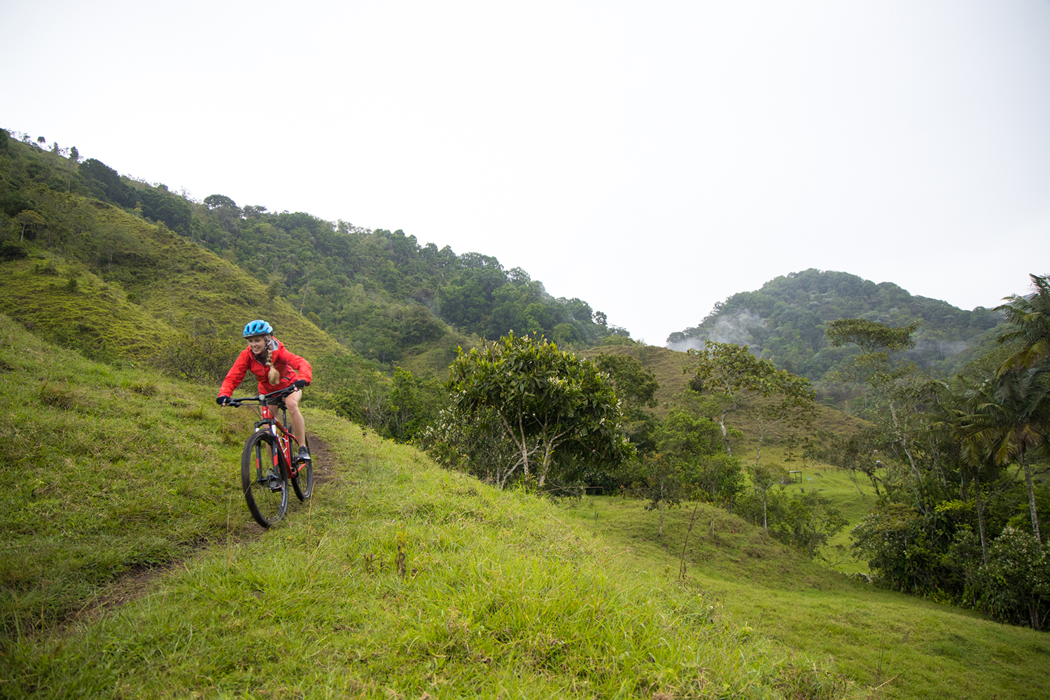 Colombia mountain biking