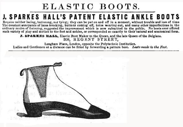 The original Chelsea boot from 1851