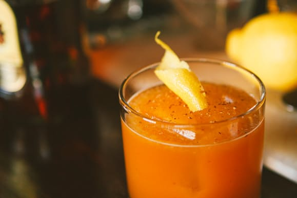 Provisions Bourbon And The Pumpkin Sour Huckberry