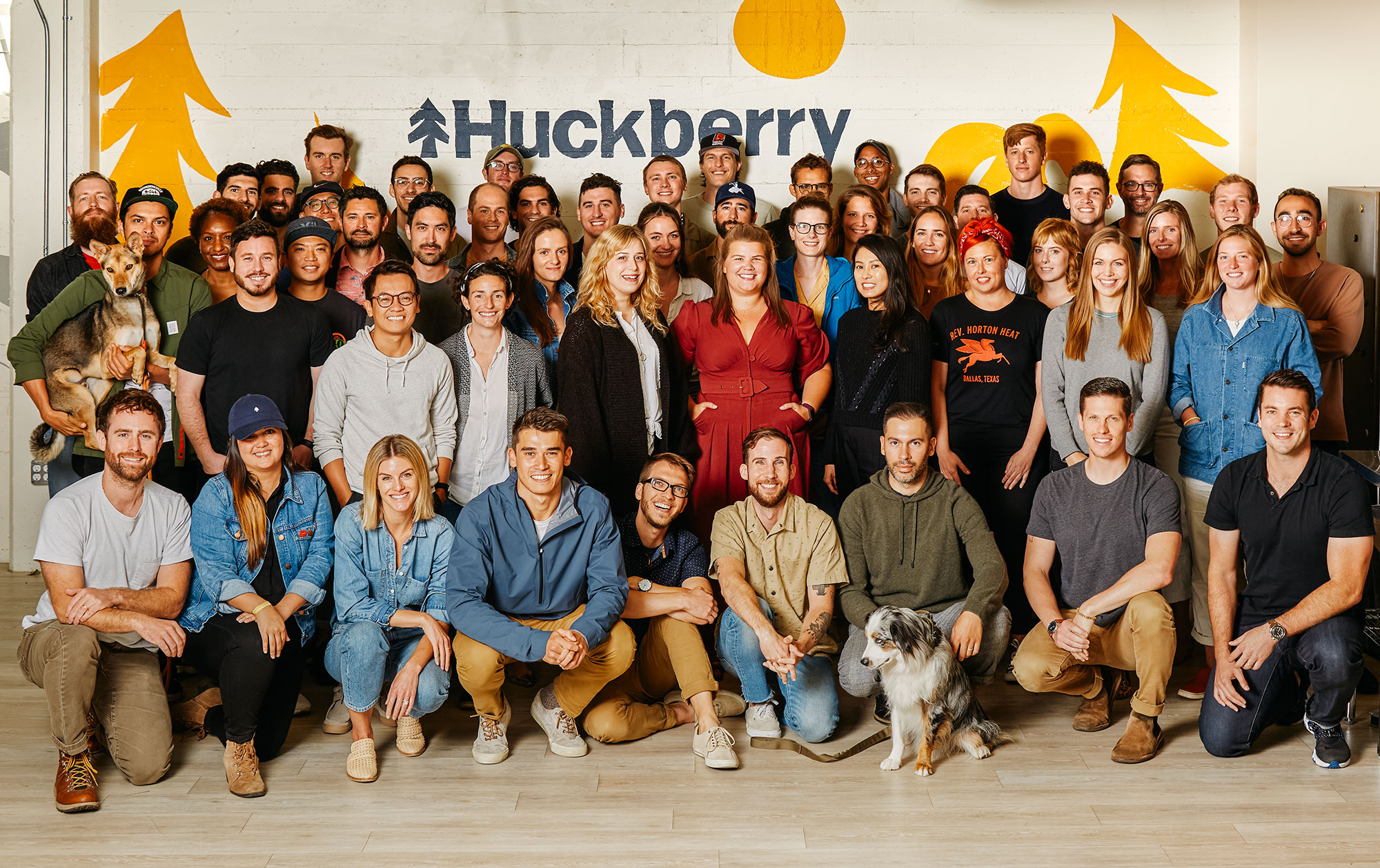 Huckberry Team Photo