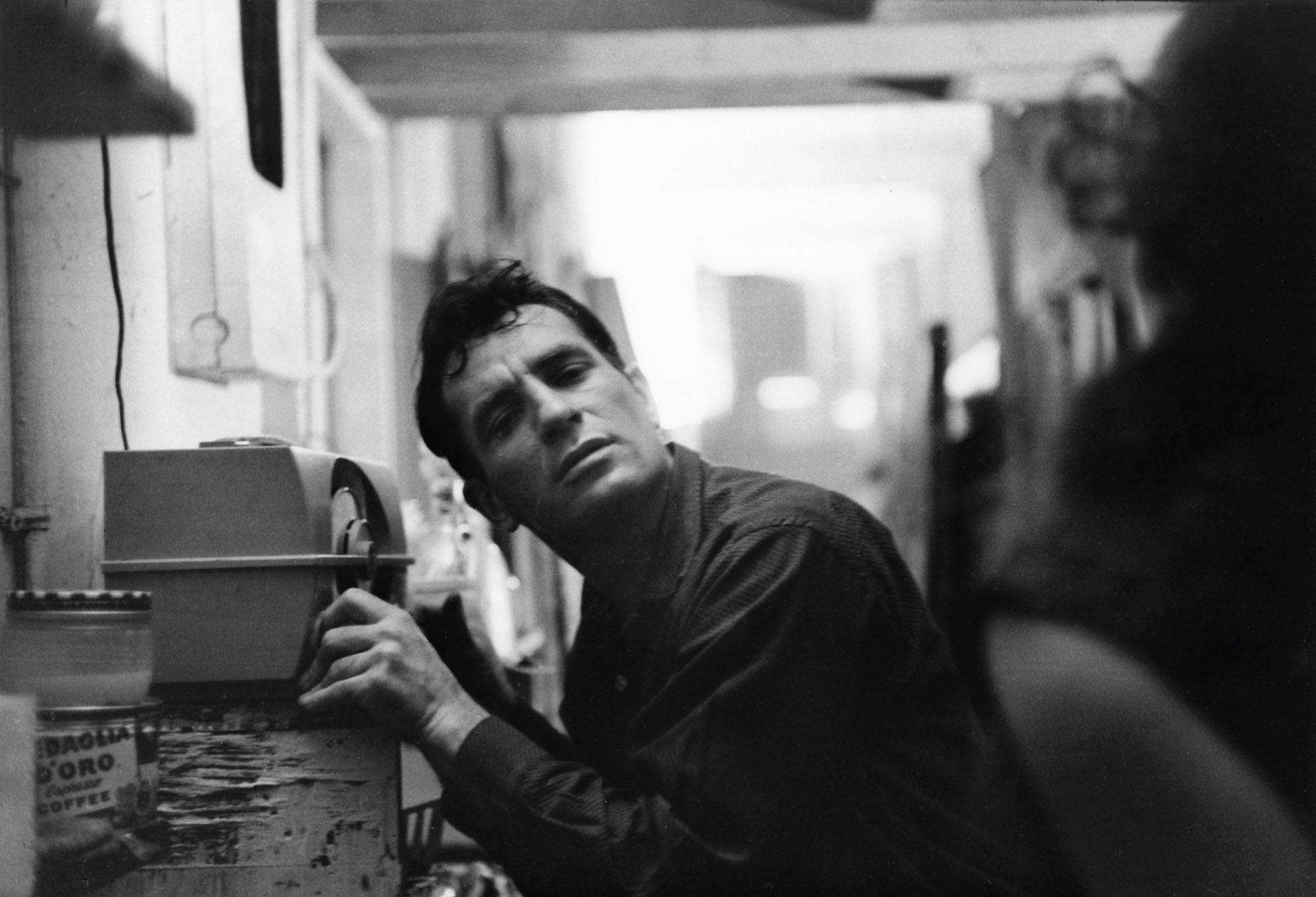 Jack Kerouac in corduroy