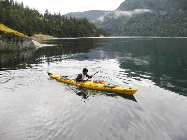 Jaed Coffin Kayaks to Alaska