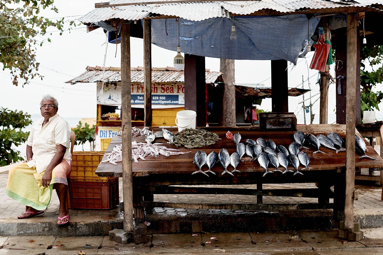 Market in Sri Lanka