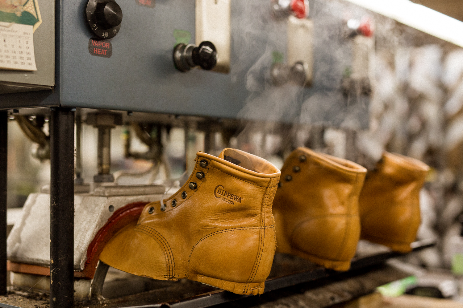 Original Chippewa The Story Of An American Boot Huckberry Cut Engineer Classic Shoes Iron Safety Boots Leather Dark Brown Our Steamin Hot Exclusive After Being Shaped