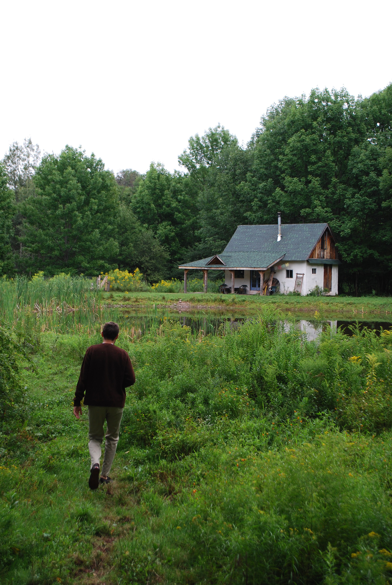 The Pond House in the Catskills, New York