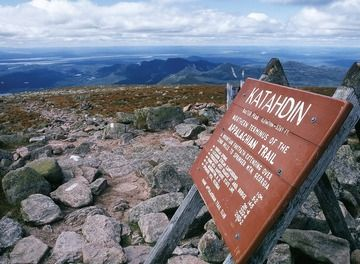 Tile top of mount katahdin